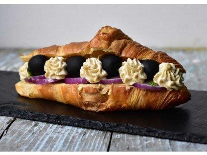 Croissant Greek s hummusem a olivami (10 ks) produkt