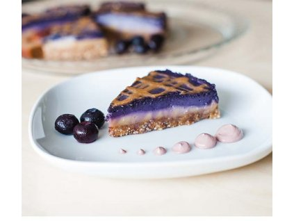 boruvkovy sen - raw dort