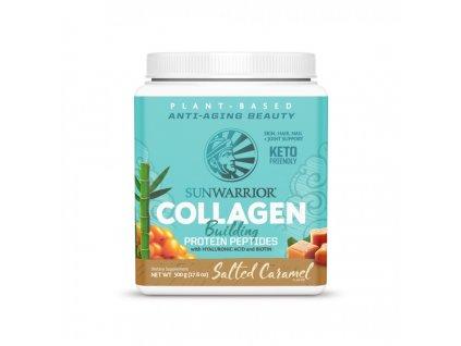 collagen sunwarrior slaný karamel produkt