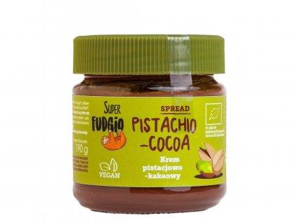 Pistáciovo kakaový krém Super Fudgio