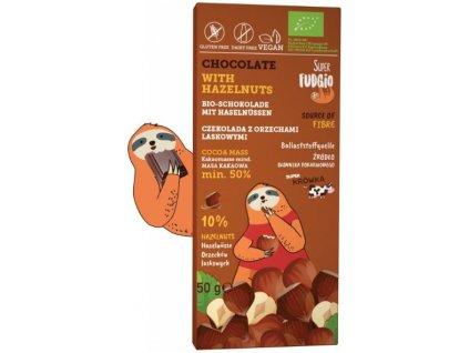 čokoláda lískové oříšky