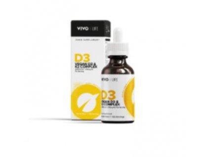 Vitamín D3 + K2