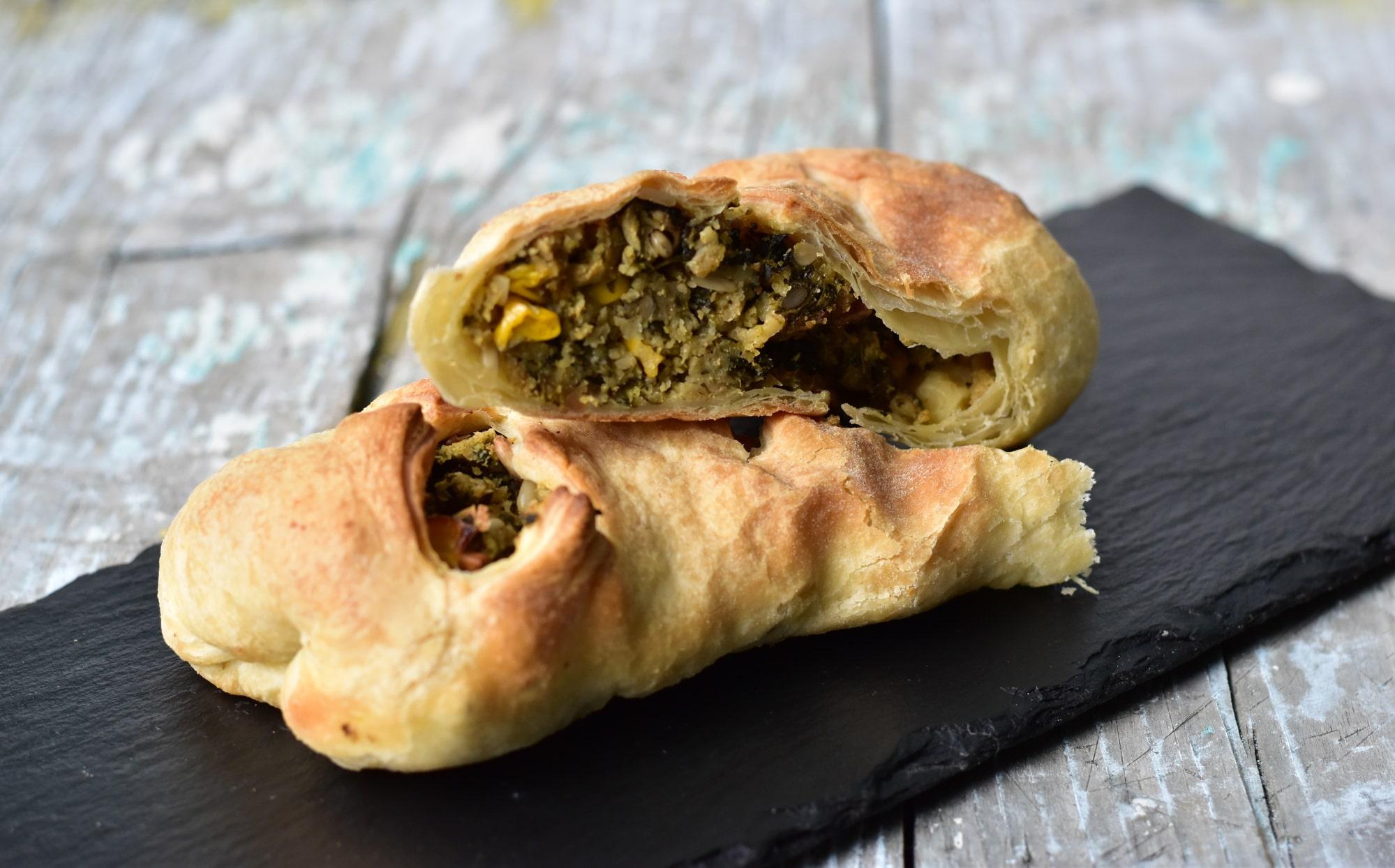Black Kale s.r.o. Vegan slané kapsičky z listového těsta - různé druhy (5ks) Příchuť: Špenát POPEYE