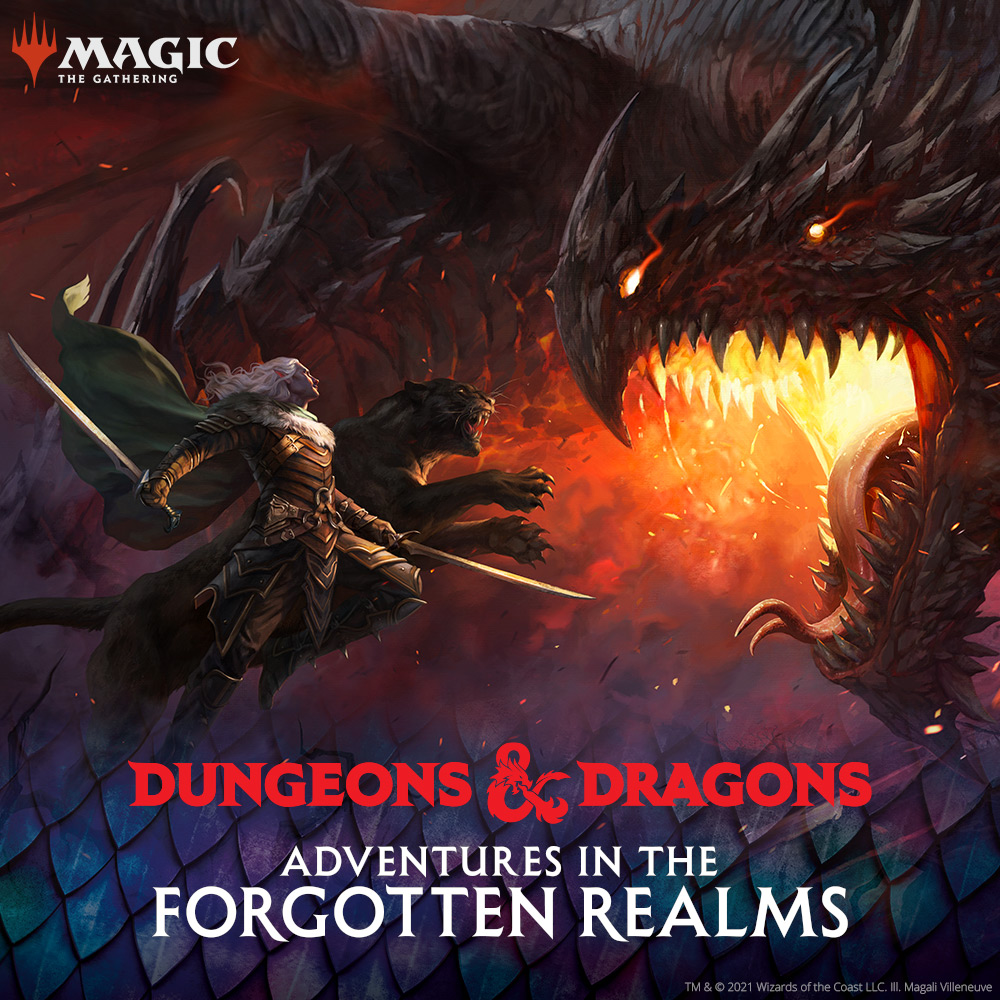 Adventures in the Forgotten Realms — D&D se potkává s M:TG
