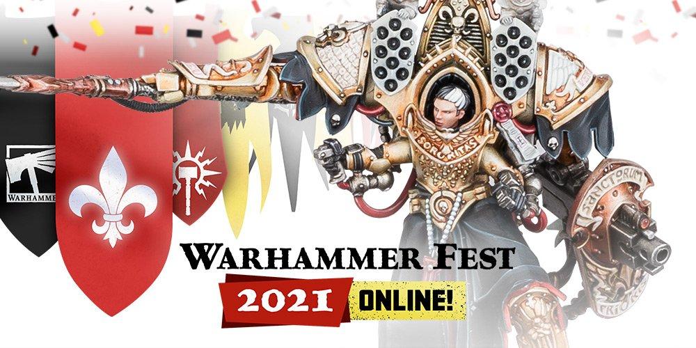 Games Workshop a Novinky z Warhammer Festu