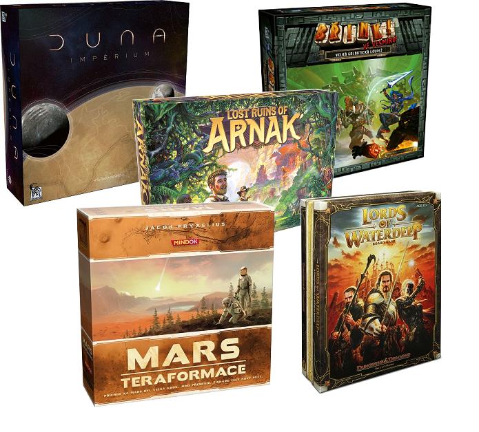 Top 5 deskových her z Lotusu (Verčin výběr)