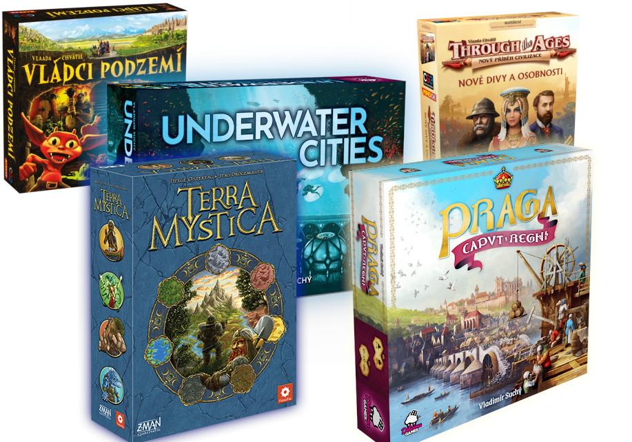 Top 5 deskových her z Lotusu (Regisův výběr)