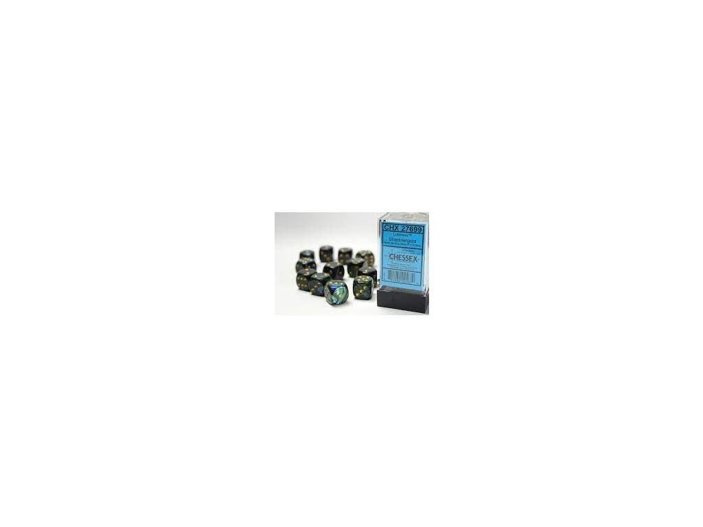Chessex sada kostek D6 (12 kostek)