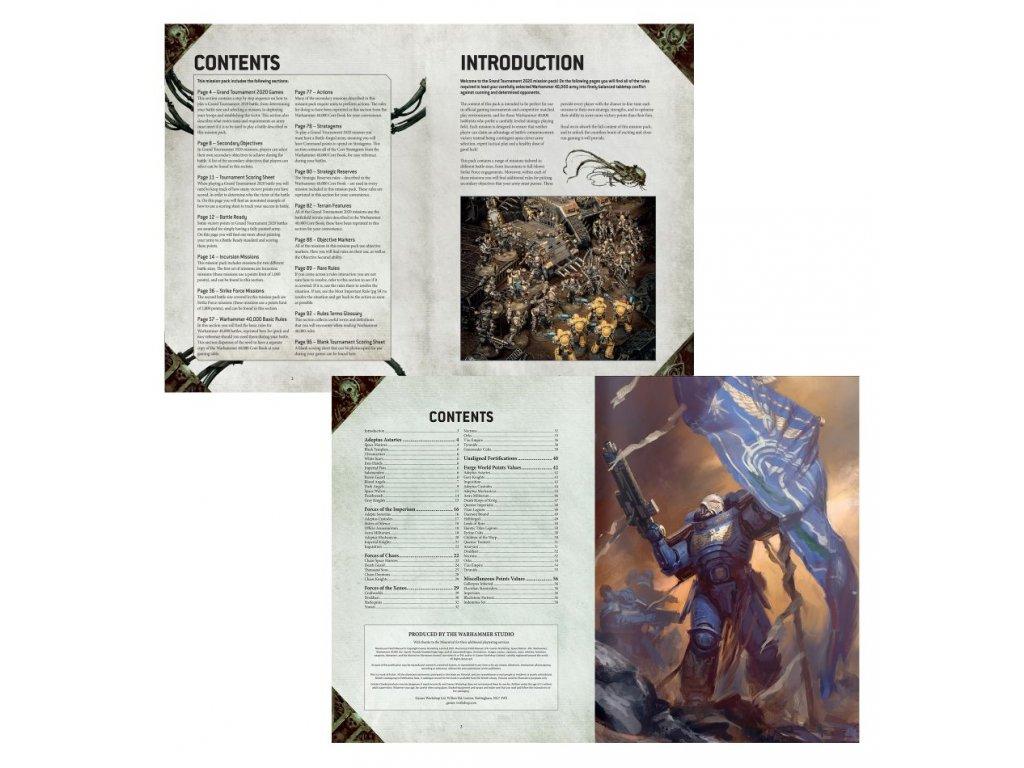 Warhammer 40.000 Chapter Approved 2020 + Munitorium field manual (English)
