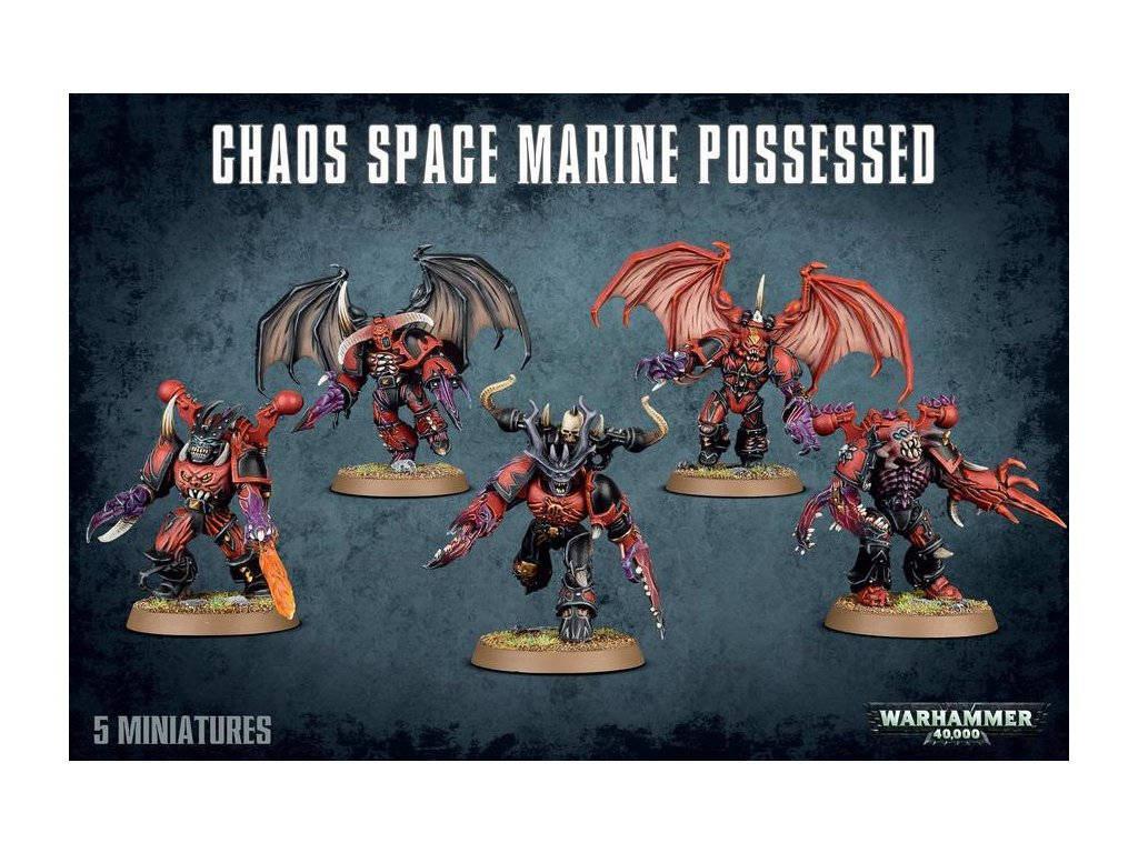 chaos space marine possessed copy z1