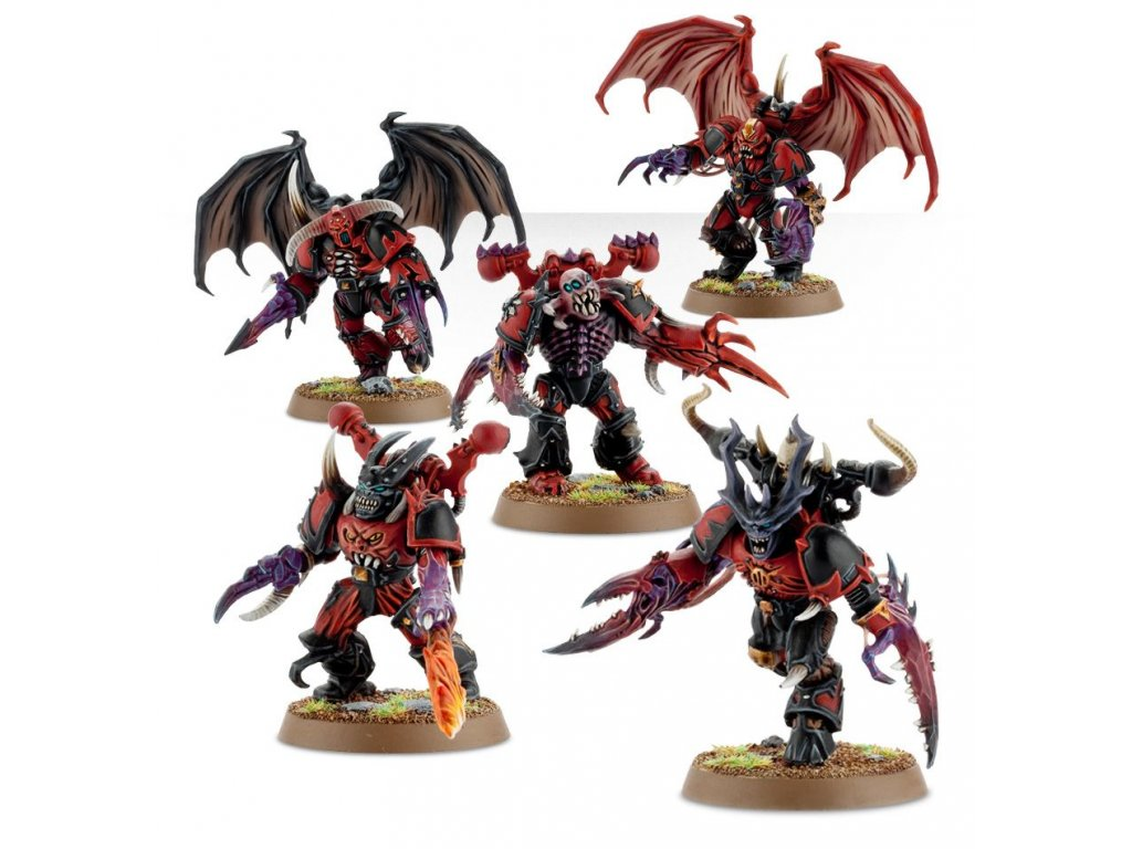 Chaos Space Marines - Possessed