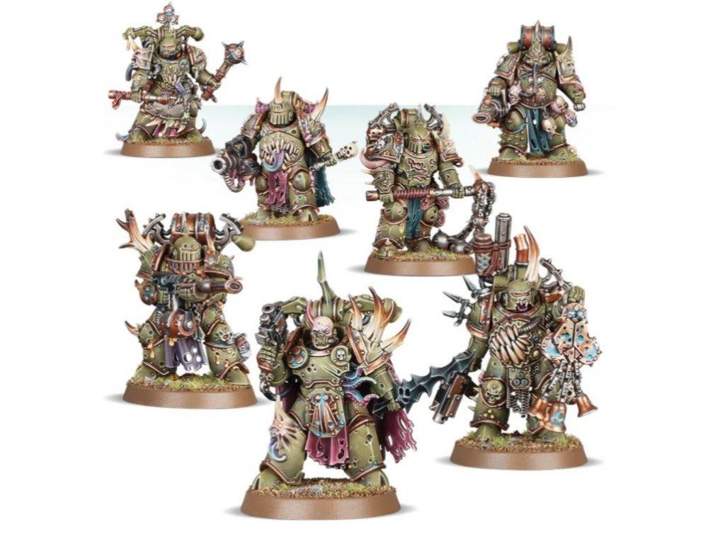 Death Guard - Plague Marines