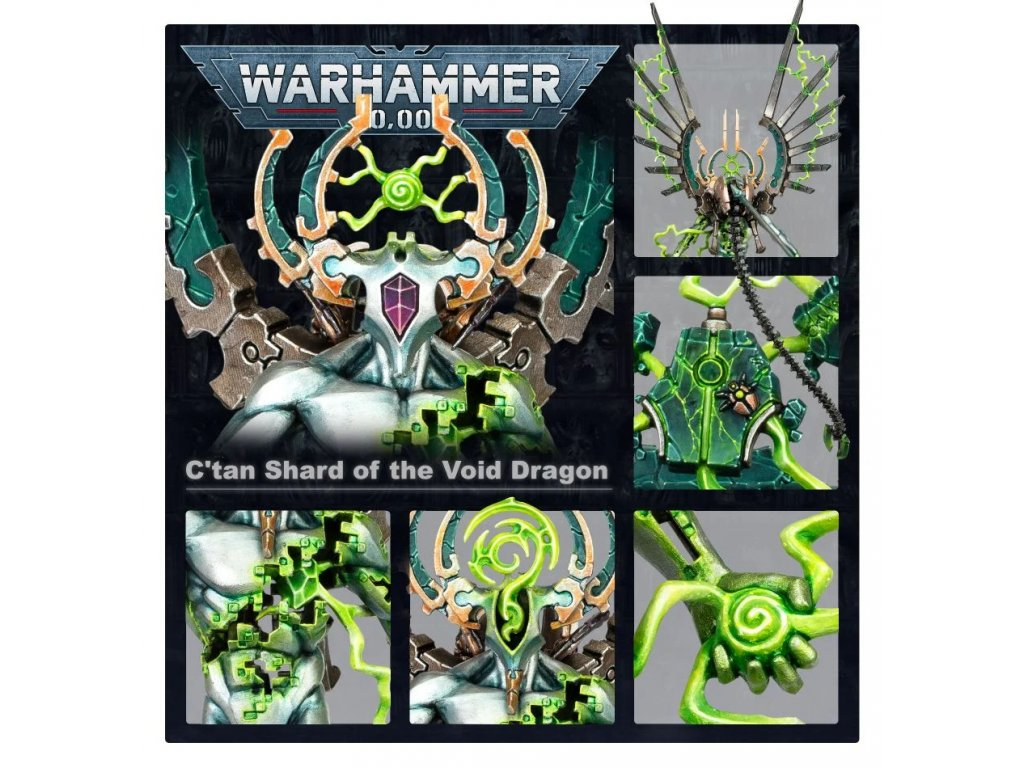 Necrons - C'than Shard of the Void Dragon