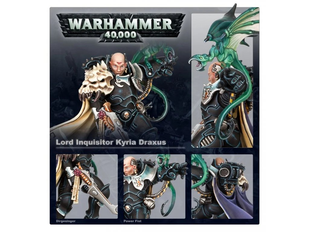 Inquisition - Lord Inquisitor Kyria Draxus