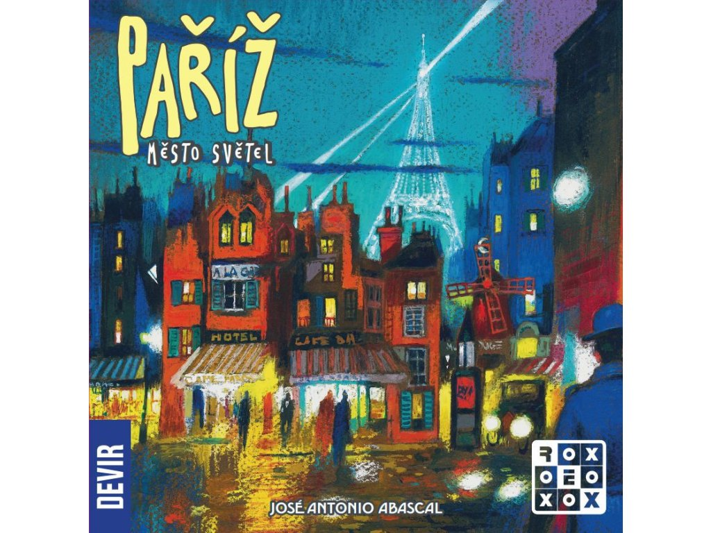 pariz mesto svetel