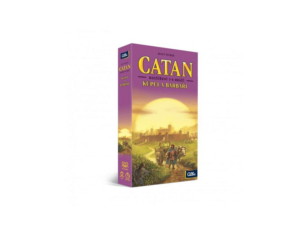 catan osadnici z katanu kupci a barbari 5 6 hracu