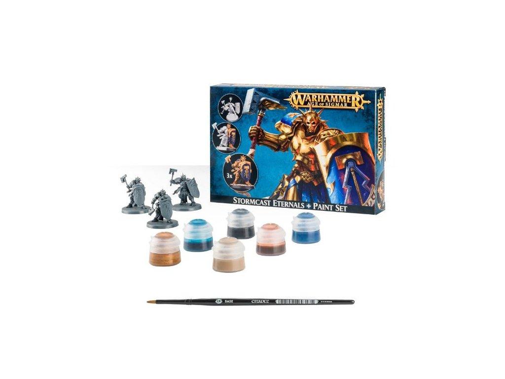 Age of Sigmar — Stormcast Eternals + Paint Set