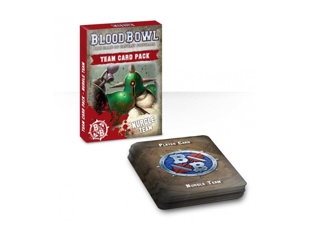 Blood Bowl Team Card Pack – Nurgle Team (ENGLISH)