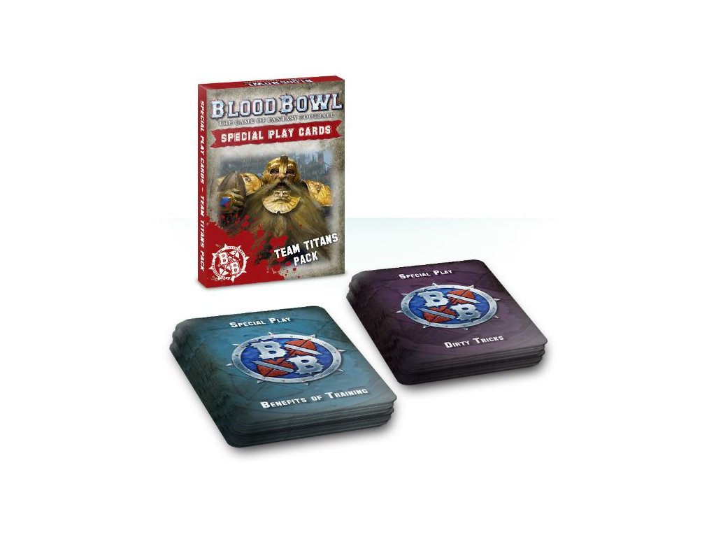 Blood Bowl Special Play Cards: Team Titans Pack