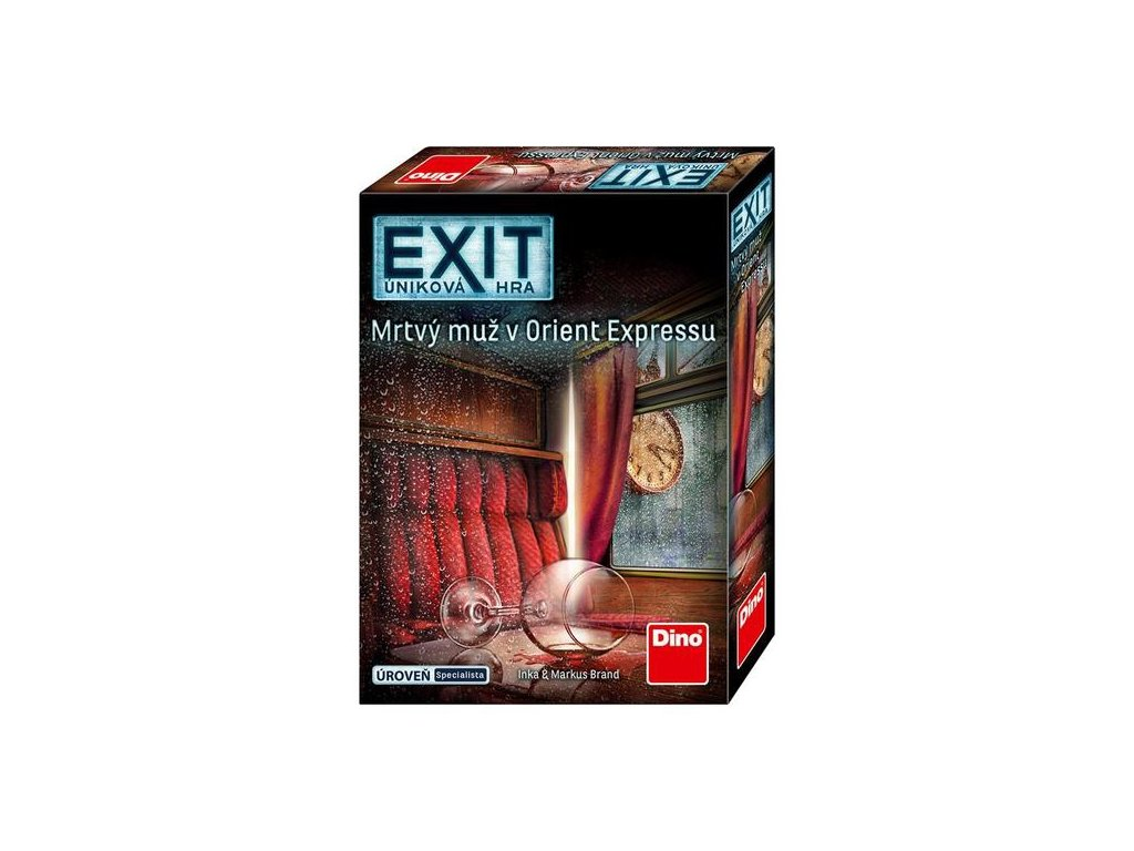 Exit: Úniková hra - Mrtvý muž v Orient expressu