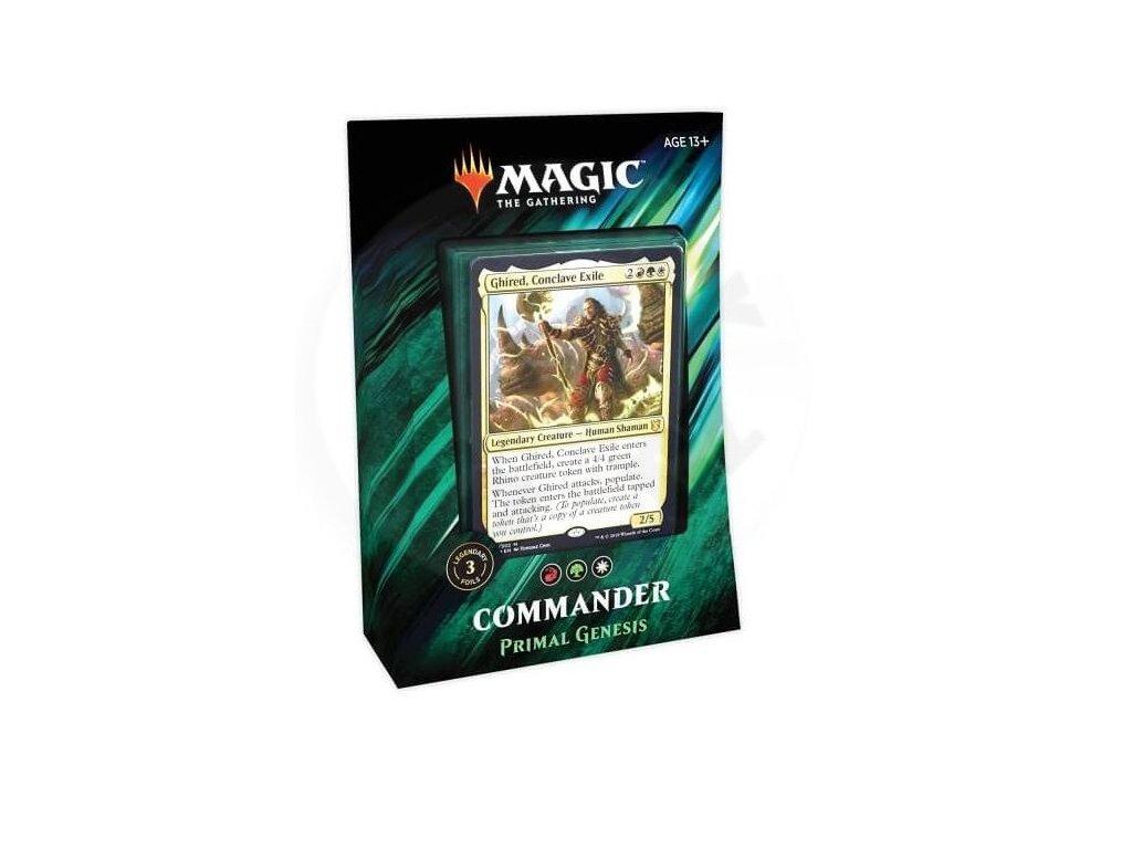 magic the gathering commander 2019 primal genesis