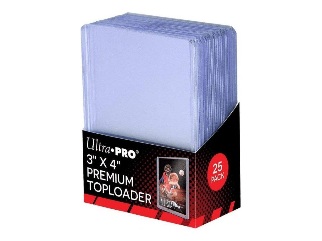 Ultra Pro Toploader - 3'' x 4''  (25 kusů)