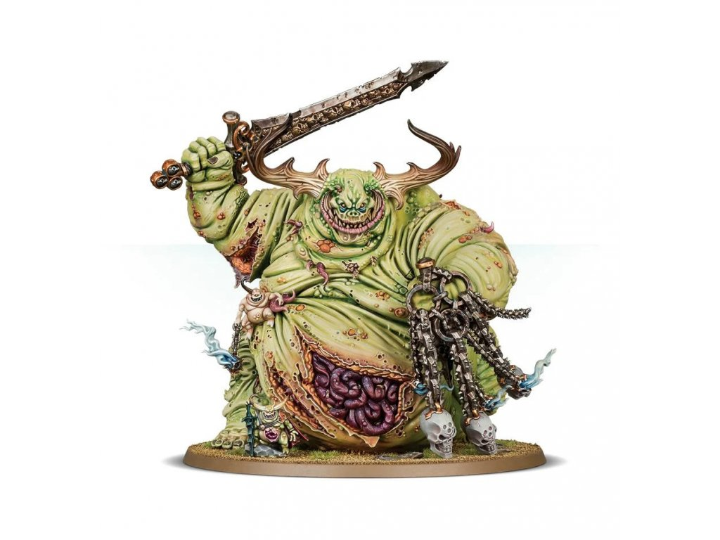 Chaos Daemons - Great Unclean One // Rotigus