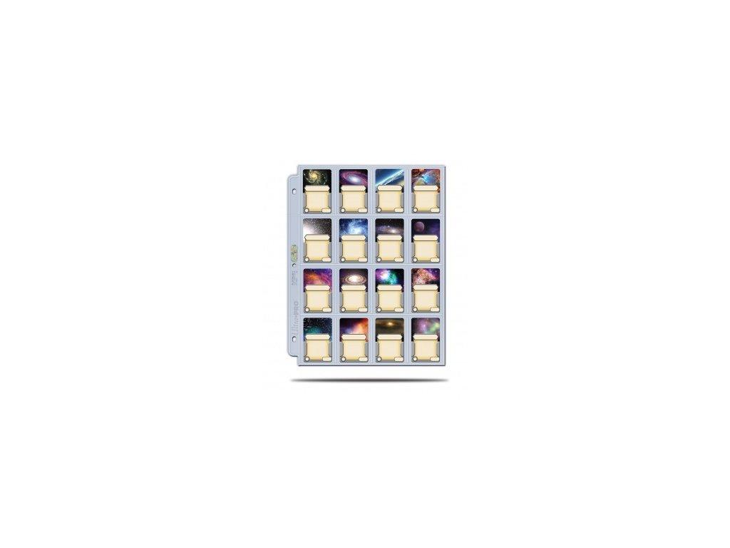Ultra Pro stránka do alba 16 Pocket (1 stránka)