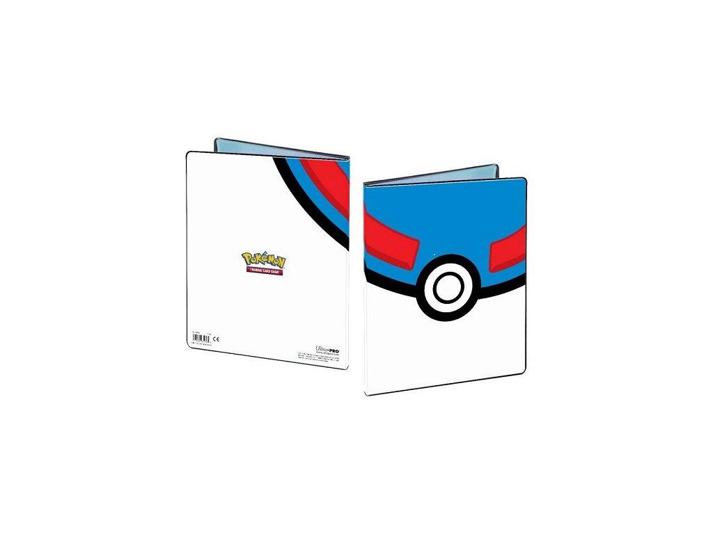 Album na karty Pokémon 9 Pocket — Great Ball