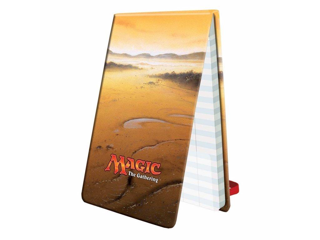 2100 magic the gathering life pad mana 5 plains