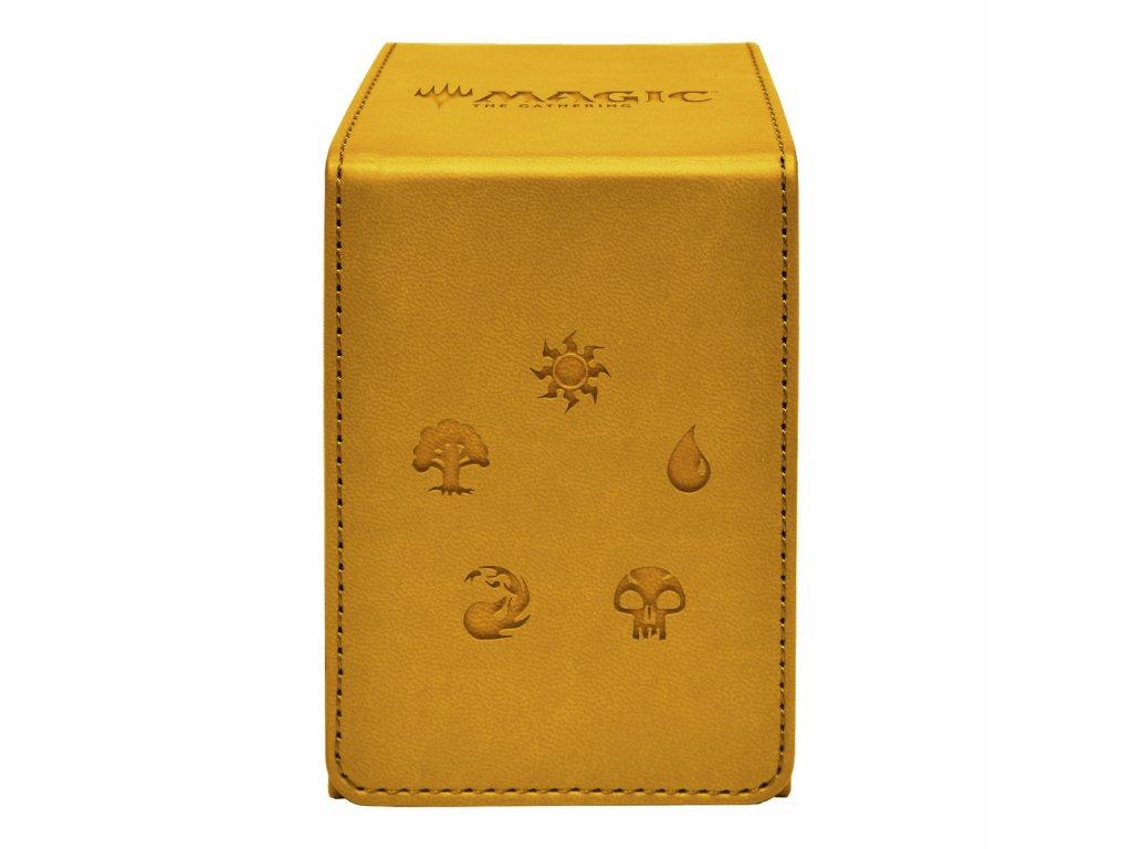 Ultra Pro krabička na karty Alcove Flip Box — Gold