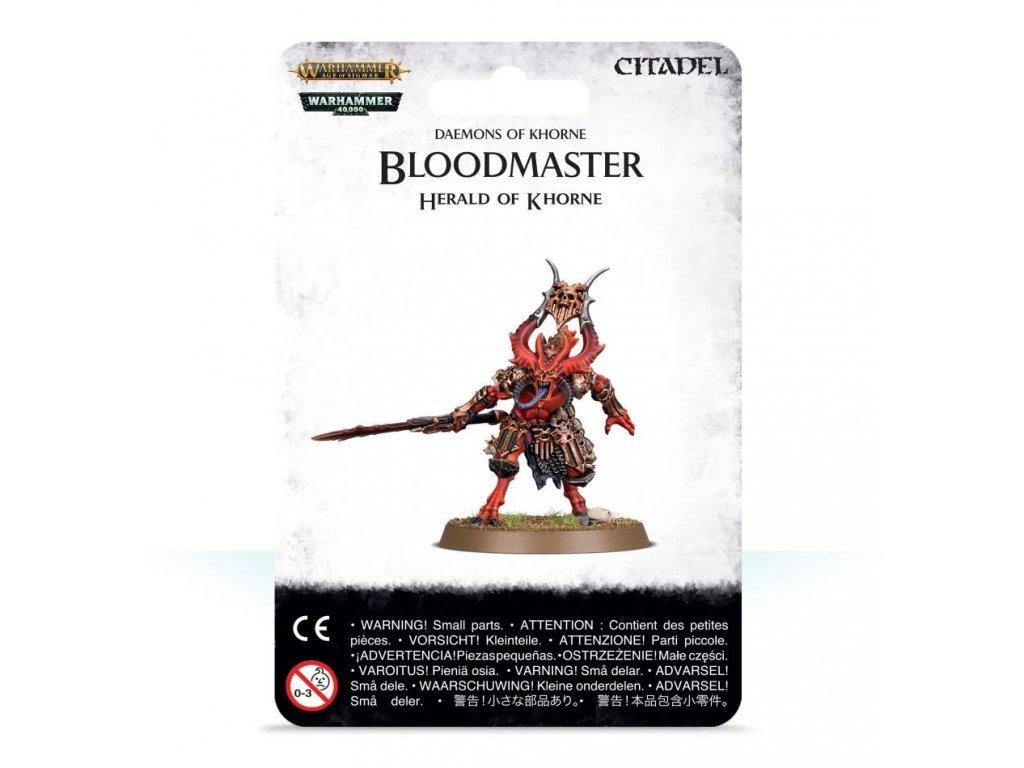 Chaos Daemons - Bloodmaster, Herald of Khorne