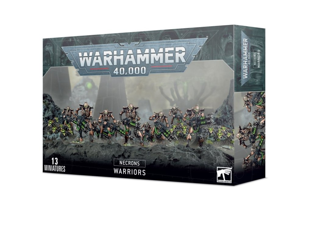 3290 necrons warriors with canopteck scarabs