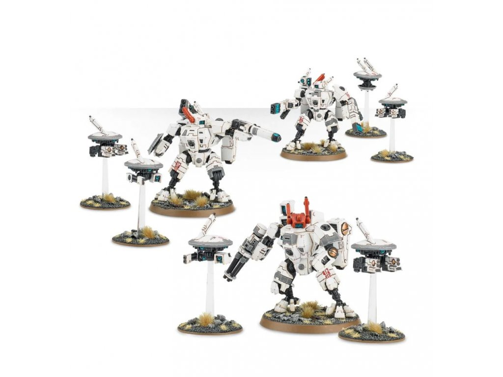 Tau Empire - XV8 Crisis Battlesuits