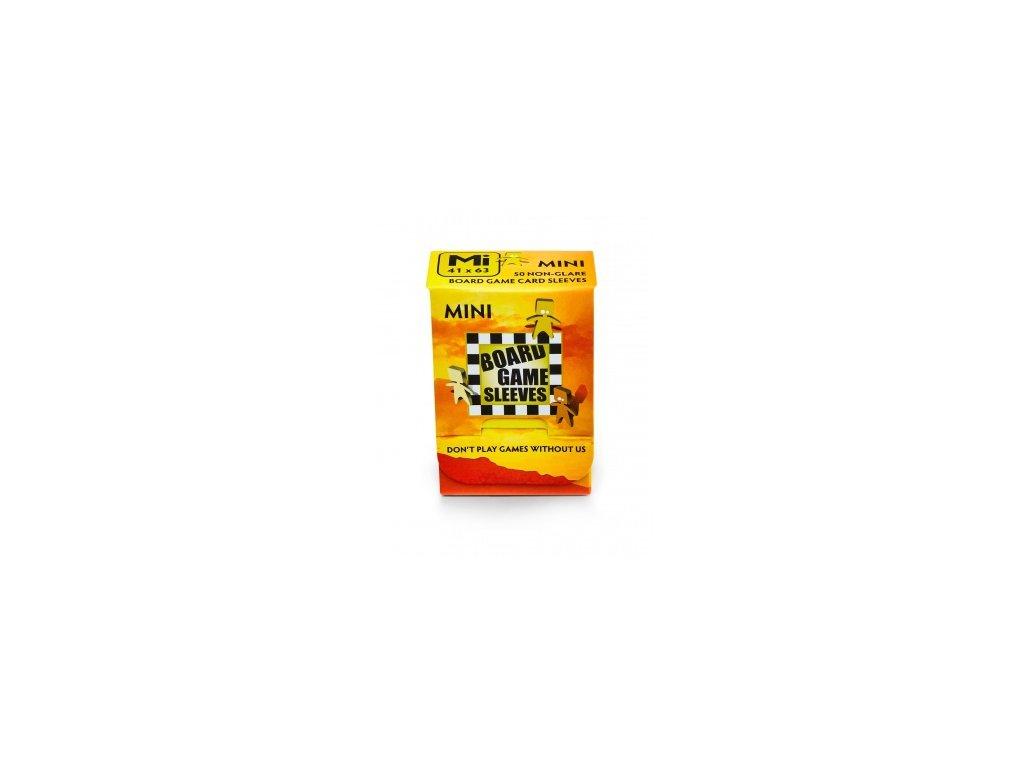 Board Game Sleeves — Mini (41x63mm) - 50 obalů