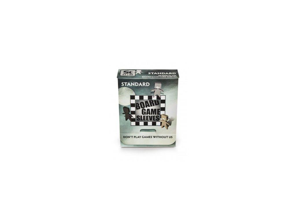 Board Games Sleeves — Standard (63x88mm) — 50 obalů