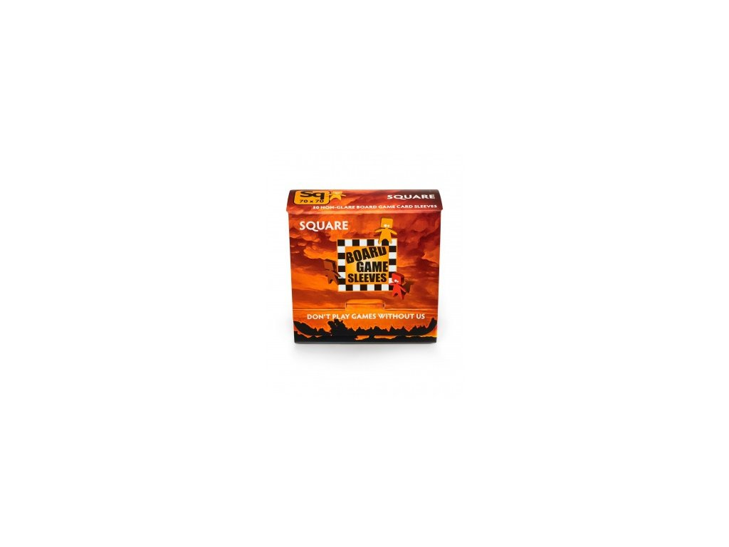 Board Game Sleeves — Square (69x69mm) - 50 obalů