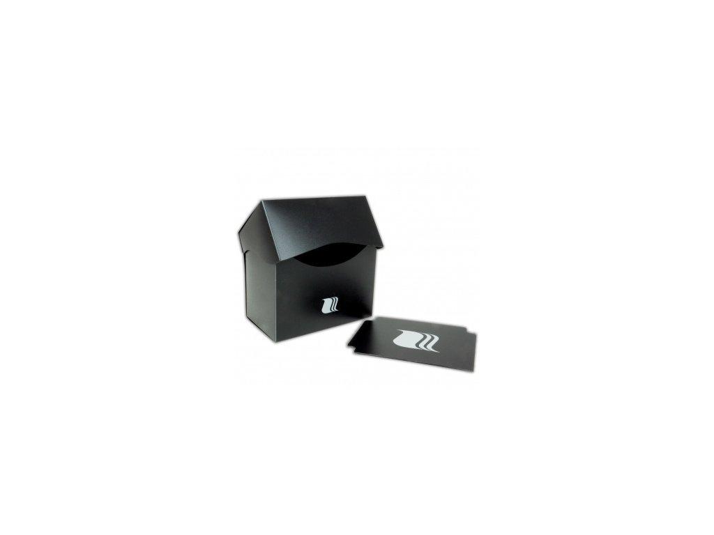 Blackfire krabička na karty (80+ karet) — Černá