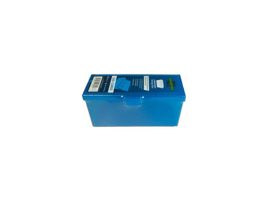 Blackfire krabička na karty s oddíly — zelená