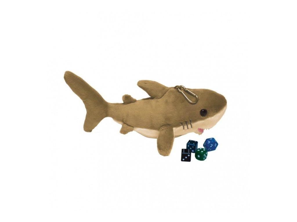 Plyšový váček na kostky — Žralok