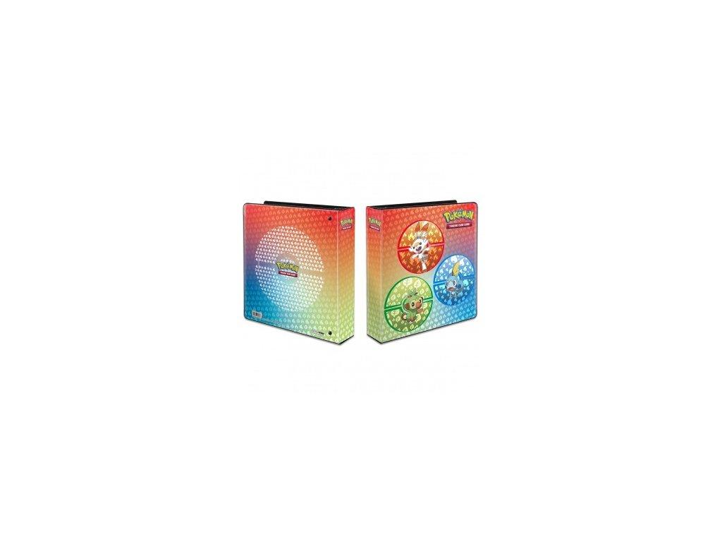 Sběratelské album na karty Pokémon — Galar Starters