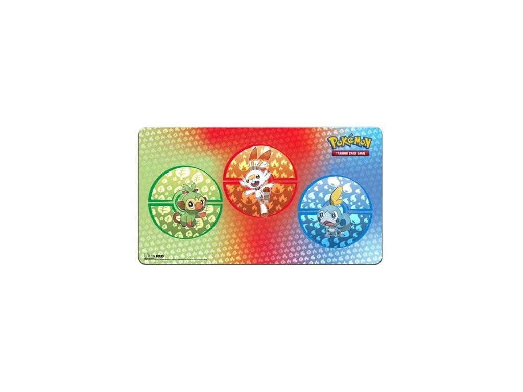 Pokemon Sword and Shield Galar Starters Playmat