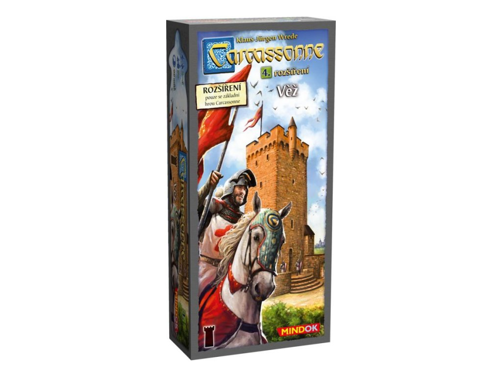 Carcassonne - rozšíření 4: Věž (2. edice)