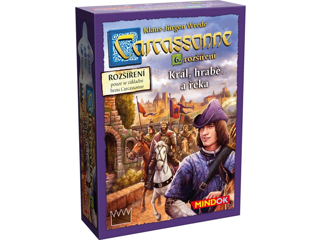 Carcassonne - rozšíření 6 (Král, hrabě a řeka)