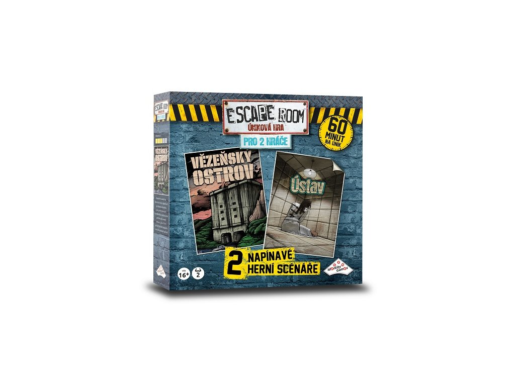 Escape Room: úniková hra pro 2 hráče
