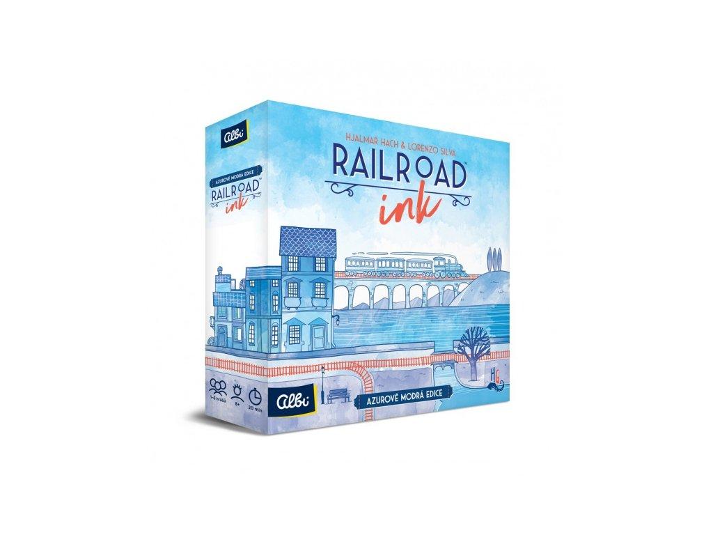 Railroad Ink — Azurově modrá edice