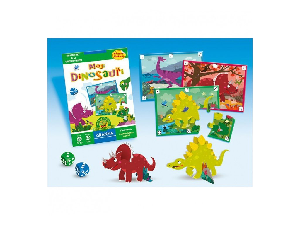 Moji dinosauři