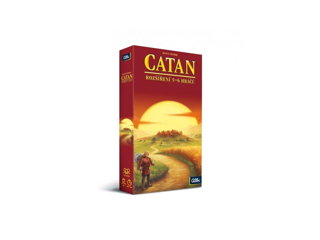 Catan - rozšíření pro 5. a 6. hráčů