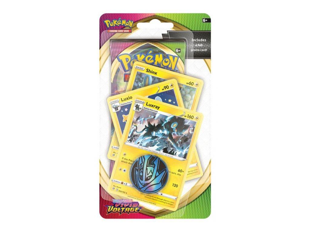 Pokémon — Vivid Voltage Premium Checklane Blister — Luxray
