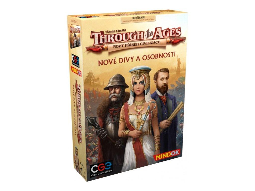 Through the Ages - Nové divy a osobnosti